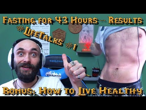 #LifeTalks #1 - Fasting 43 out of 96 hours - Results + Is it Good or Bad + Life Motivation Speech