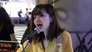 歌姫 sae さん カバー曲「back number 瞬き 」渋谷駅ハチ公口ストリートライブ 19:30〜