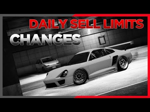 Gta Info Daily Sell Limits Have Changed
