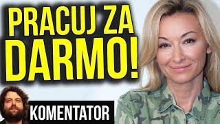 Ludzie Chcą Pracować Za Pieniądze - SZOK Martyny Wojciechowskiej Gwiazdy TVN - Komentator