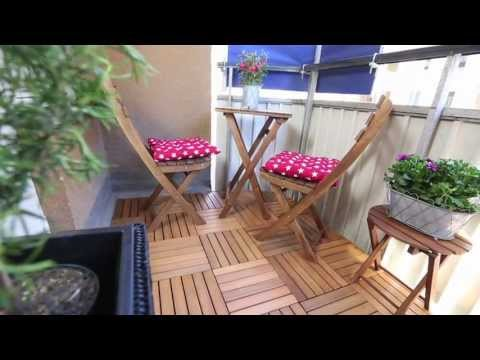 How to lay decking on your patio - Clas Ohlson
