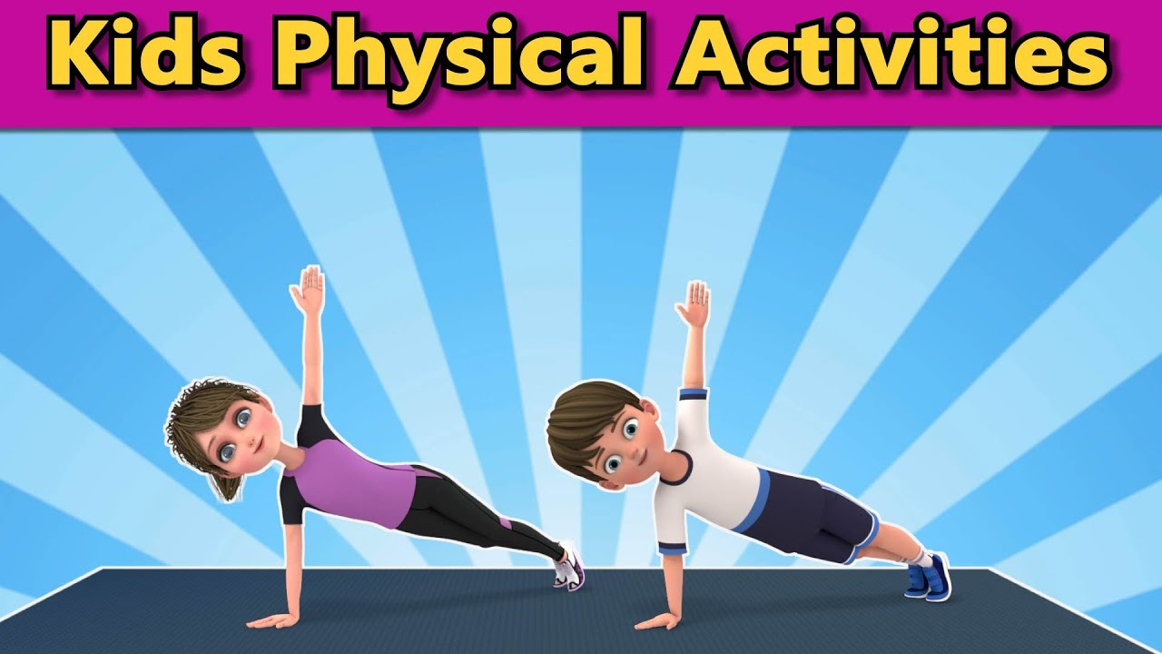 Kids Physical Activities: Beginner Exercises | Kids Exercise | Get Active At Home