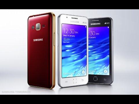 Samsung Z1 con Tizen OS, anteprima in italiano - MWC 2015