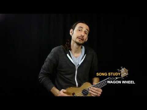 WAGON WHEEL ukulele tutorial | Darius Rucker | Old Crow Medicine Show |  easy ukulele song