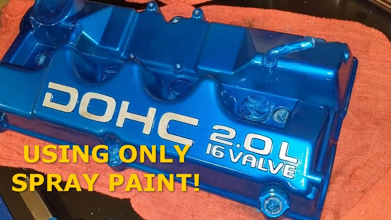 Download Painting the Valve Cover with Spray Paint #Eclipse2GBuild