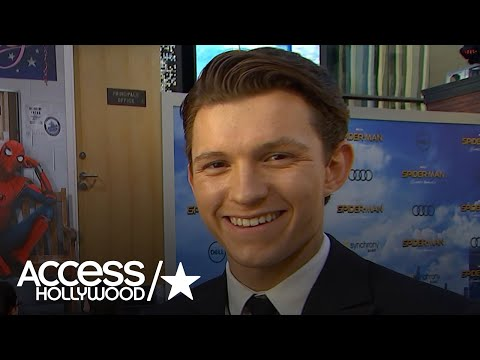Tom Holland On The 'Spider-Man: Homecoming' Premiere: 'My Mind Is Blown' | Access Hollywood