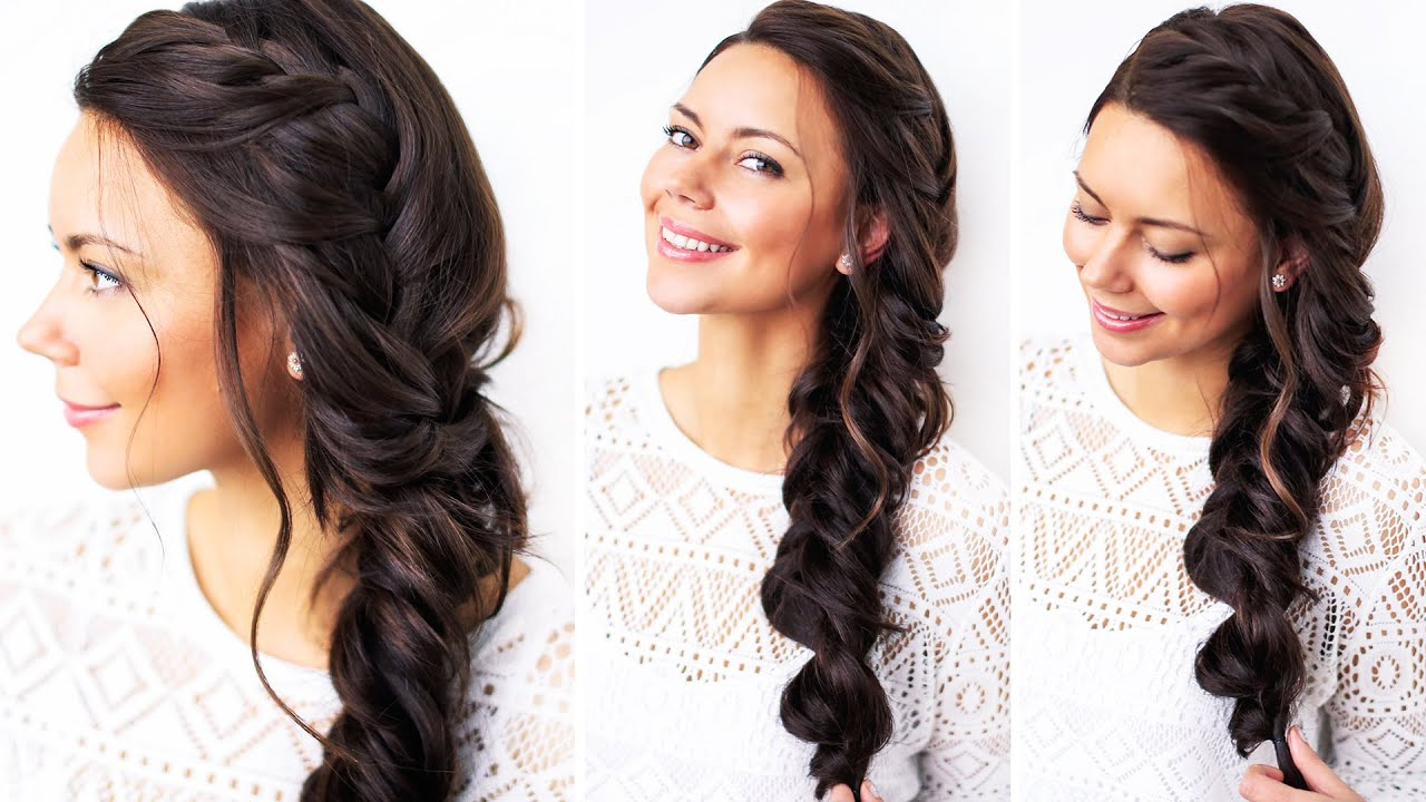 How To Triple Braid Hair Tutorial Luxy Hair YouTube