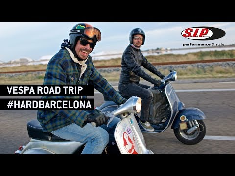 VESPA Road Trip BARCELONA 2017 by SIP Scootershop