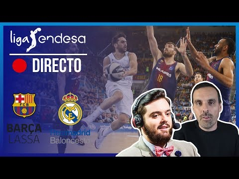 🔴 DIRECTO BARÇA LASSA - REAL MADRID | Liga Endesa con IBAI y OUTCONSUMER