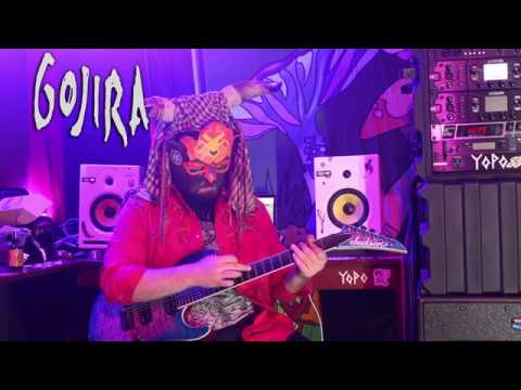 Gojira - Silvera (Magma, 2016) Guitar play through cover by Grotor.