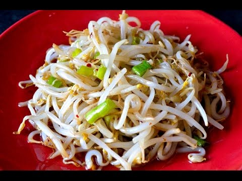 Chinese Bean Sprout Salad (www.China-Memo.com)