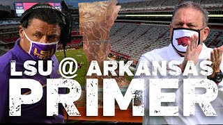 LSU at Arkansas Primer