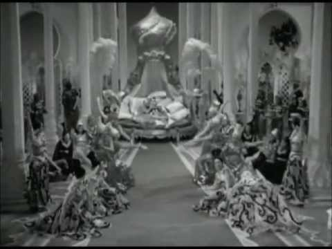 Dorothy Lamour singing 'CONSTANTLY' to Bob Hope in ROAD TO MOROCCO (1942)
