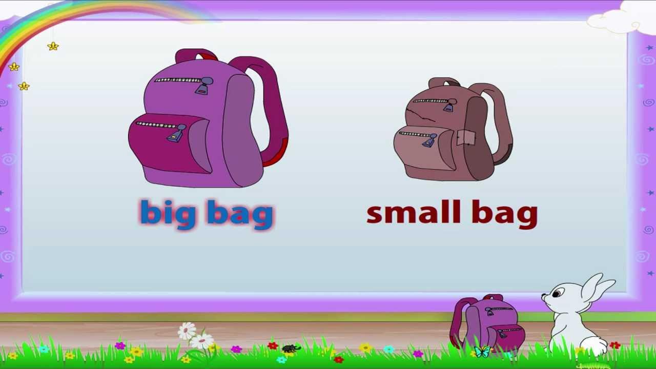 small resolution of Learn Grade 1- English Grammar - Antonyms - YouTube