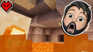 I ALMOST DIED 3 TIMES In Minecraft Hardcore!!