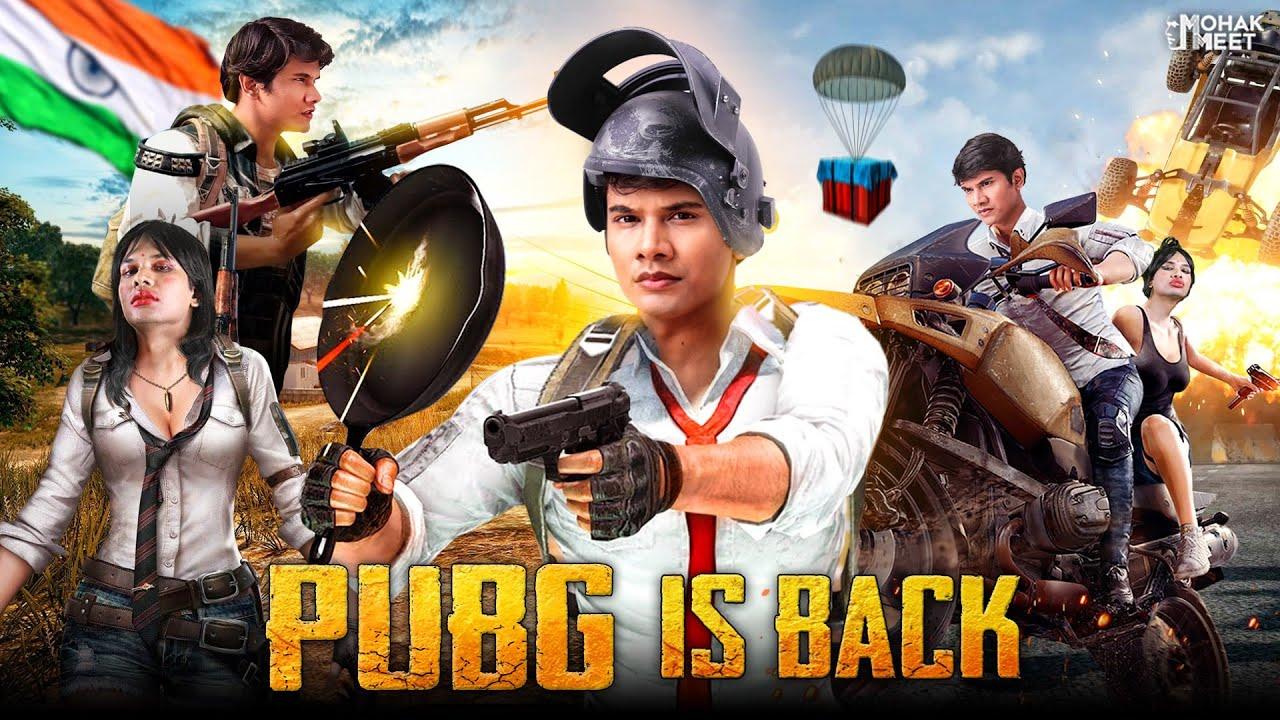 PUBG WAR : पबजी SHORT FILM | PUBG IS BACK | COMEDY VIDEO | #Funny #Bloopers | MOHAK MEET