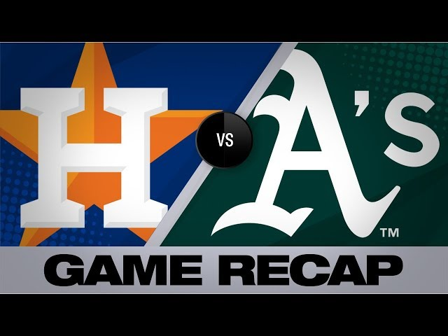 Bregman, Greinke hit milestones in win | Astros-A's Game Highlights 8/18/19