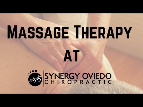 Massage Therapy at Synergy Oviedo Chiropractic