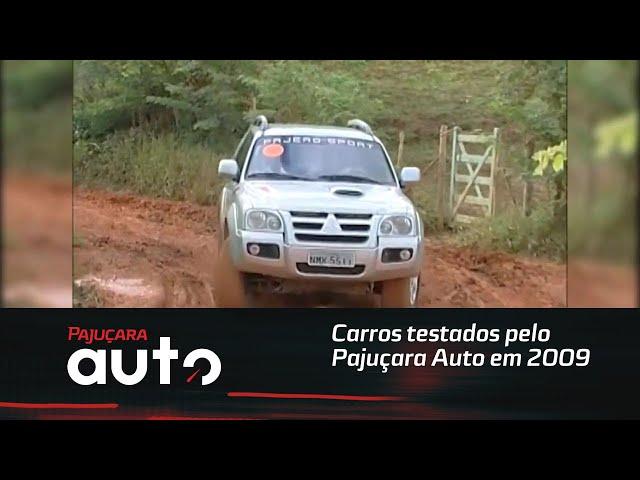 Relembre alguns carros testados pelo Pajuçara Auto em 2009