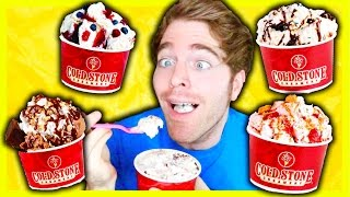 TASTING COLD STONE ICE CREAM FLAVORS
