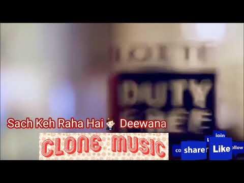 Sach keh raha hai deewana with lyrics heartbreaking song/unplugged version/rahul jain/clone music