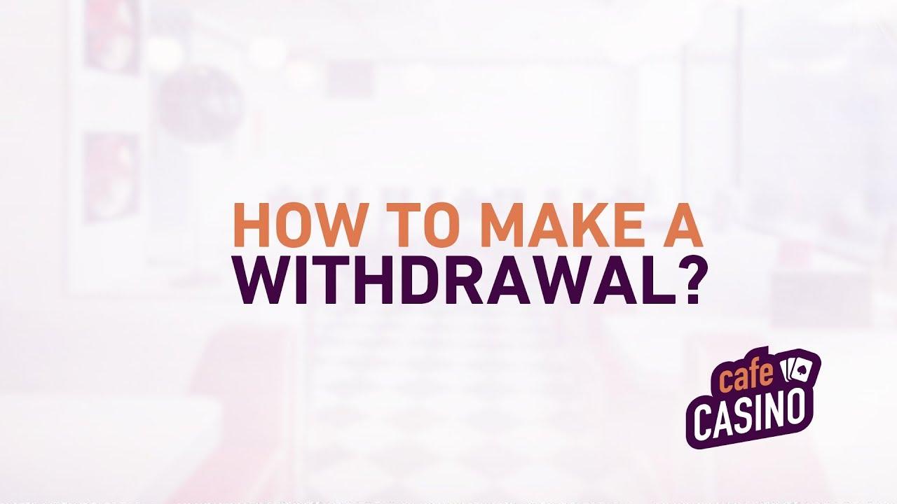 How do I Make a Withdrawal - YouTube