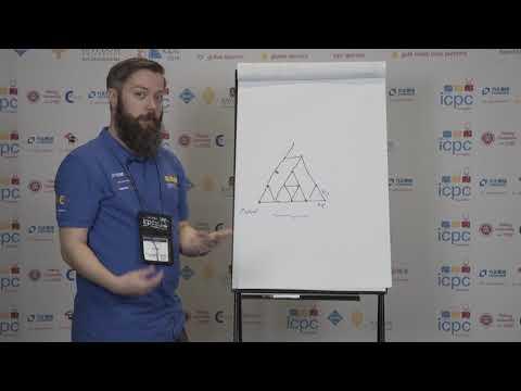 2018 ICPC Solution Video: Problem I. Triangles