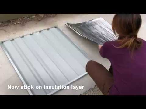 Roof panel assembly for VEBO Metal Dog Kennel
