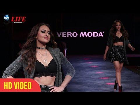 Vero Moda Fashion Show 2018: दबंग गर्ल Sonakshi Sinha का Ramp पर दिखा Bold अंदाज़ |