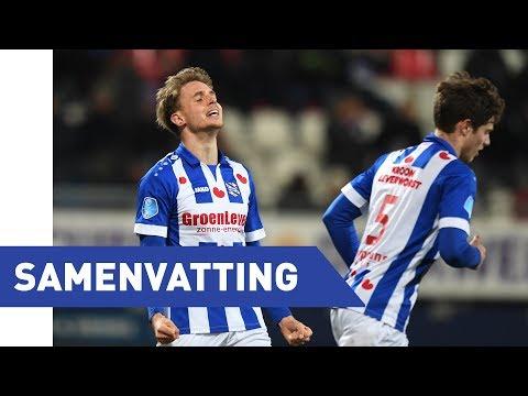 Eredivisie speelronde 25:  sc Heerenveen - Excelsior