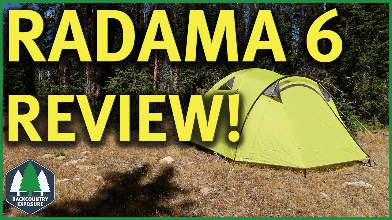 Peregrine Radama 6 Tent - A Family Base C&! & Peregrine Radama 6 Tent - A Family Base Camp! - YouTube