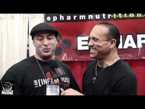 Chemist Patrick Arnold at the E-Pharm Booth at the 2011 Arnold Expo!.flv