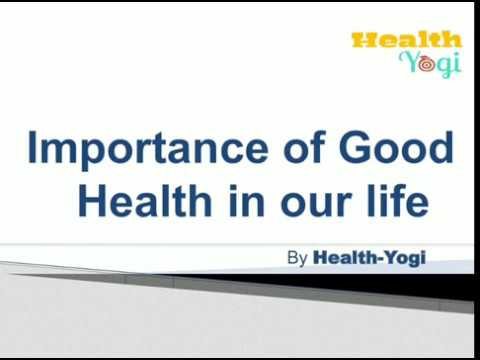 english essay good health