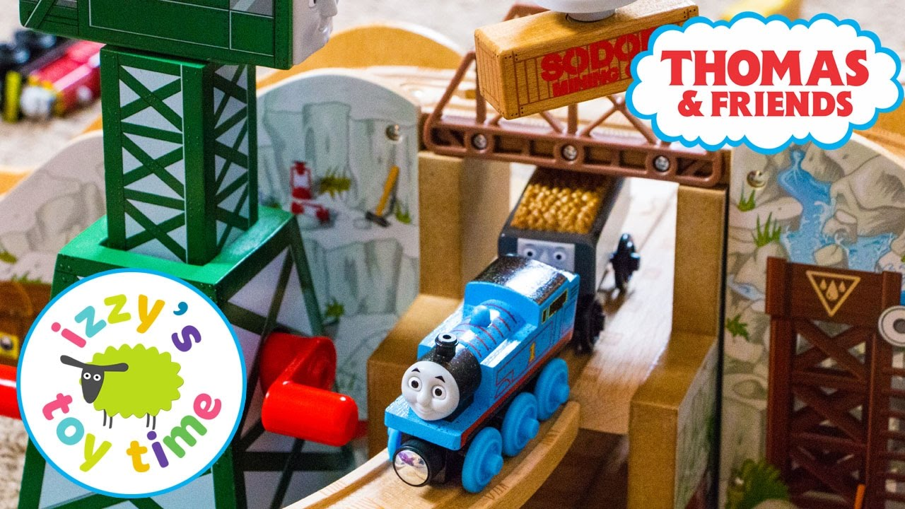 Thomas Train Gold Mine Mountain Thomas And Friends With Kidkraft And Brio Toy Trains For Kids