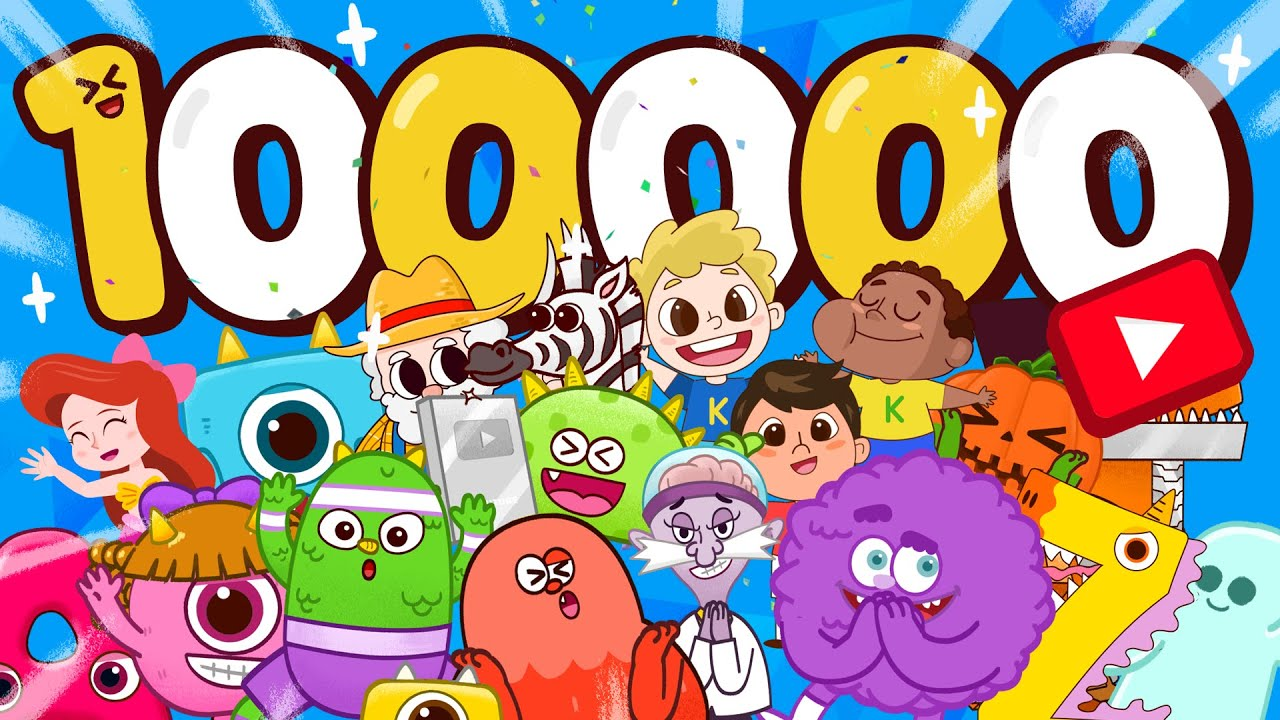 Thanks for 100,000 subscribers!! - ZooZooSong monsters