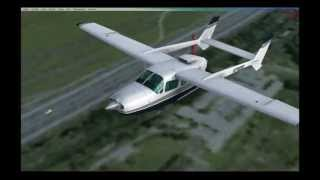 FSX  Mountain Flight in Switzerland