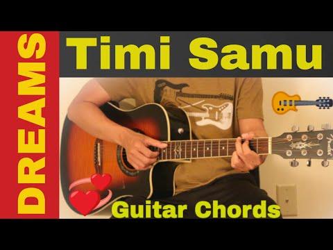 Timi Samu | Dreams - guitar chords | Lesson | tutorial - YouTube