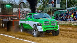 Street Diesel 4x4 Trucks at Berryville April 27 2019
