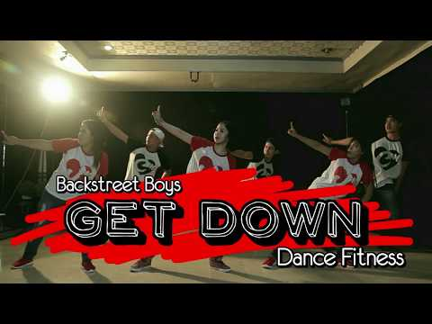 GET DOWN  Backstreet Boys  Retro Dance Fitness  JM