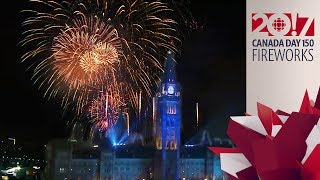 Canada Day 150! Parliament Hill Fireworks