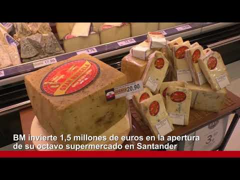 BM invierte 1,5 millones de euros en la apertura de su octavo supermercado en Santander