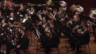 umich symphony band lincolnshire posy percy aldridge grainger