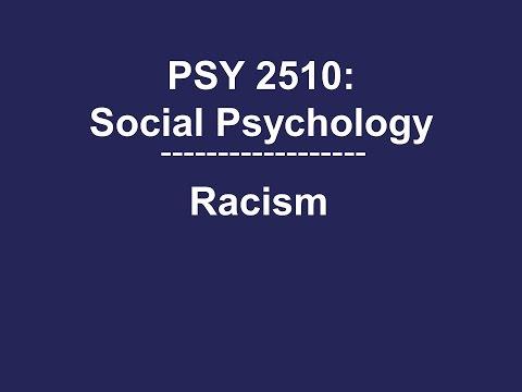 Overt, Modern, Aversive, & Implicit Racism