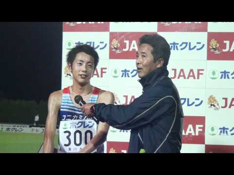 2012ホクレン深川宇賀地選手インタビュー
