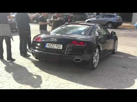 Schweinsteiger mit Audi R8