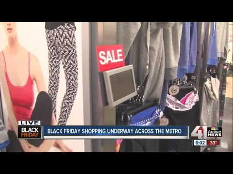 Black Friday shoppers out for holiday deals