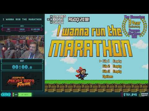 I wanna Run the Marathon by BBF in 37:32 AGDQ 2018