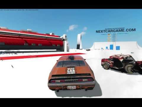 Краш-тест автомобиля в игре Next Car Game