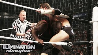 WWE Network: Mark Henry's pod is destroyed: WWE Elimination Chamber 2015