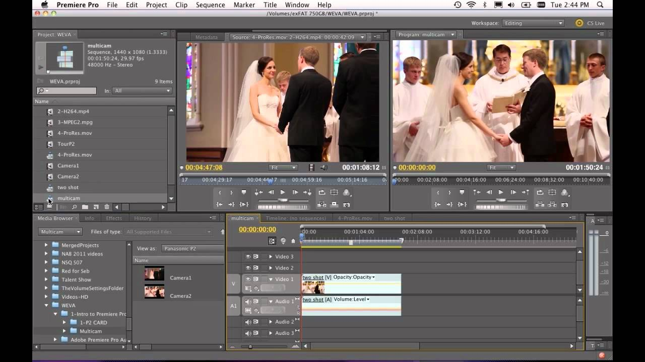 Expo Session Preview Intro To Wedding Editing In Adobe Premiere Cs5 5 You